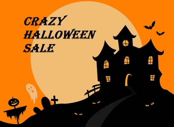 Crazy Halloween Sale